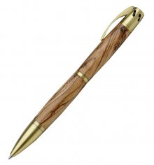 Aromatherapy Ballpoint Pen Kit - Antique Brass