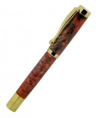 Atrax Rollerball Pen Kit - Gold