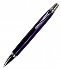 Blade Ballpoint Click Pen Kit - Chrome. Alt View 1