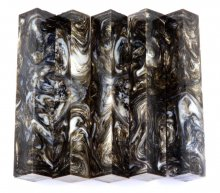 Vaper Swirl Pen Blanks #18 - Blended Bronze.