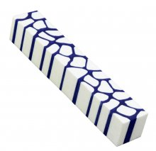 Giraffe Pen Blanks - Blue & White