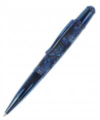 Le Roi 37 Ballpoint Pen Kit  - Blue Titanium. Alt View