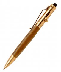 Bolt Action Stylus Tec Pen Kit - 24K Gold