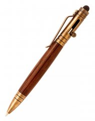 Bolt Action Stylus Tec Pen Kit - Antique Brass