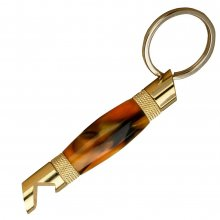Bottle Opener Keychain Kit - 24kt Gold