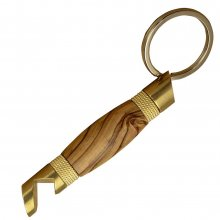 Bottle Opener Keychain Kit - Brass