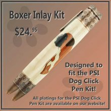 Boxer Laser Inlay Kit - Dog Pen Kits