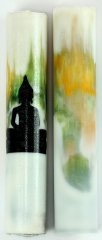 Buddha Rotacrylic pen blank - The Awakened One