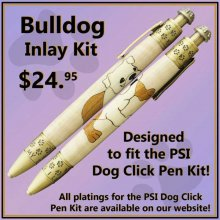 Bulldog Laser Inlay Kit - Dog Pen Kits