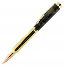 Bullet Cartridge Twist Pen Kit (Berea) - Gold