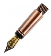 Caballero Fountain Pen Nib Section - Antique Copper