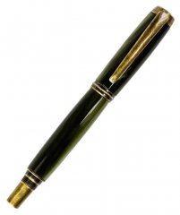 Caballero Rollerball Pen Kit - Antique Brass
