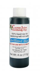 Cactus Juice Dye - Brilliant Blue 4oz