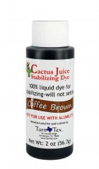 Cactus Juice Dye - Coffee Brown 2oz