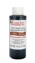 Cactus Juice Dye - Coffee Brown 4oz