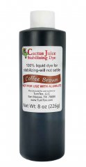 Cactus Juice Dye - Coffee Brown 8oz
