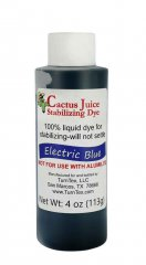Cactus Juice Dye - Electric Blue 4oz