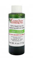 Cactus Juice Dye - Lime Green 4oz
