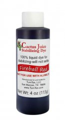 Cactus Juice Dye - Fireball Red 4oz