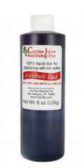 Cactus Juice Dye - Fireball Red 8oz
