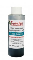 Cactus Juice Dye - Teal Green 4oz