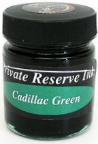Private Reserve Bottled Ink 50ml - Cadillac Green
