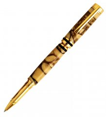 Cameron Rollerball Pen Kit - 24kt Gold