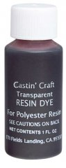 Castin' Craft Transparent Resin Dye - Red