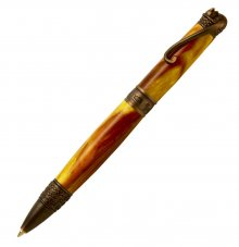 Cat Ballpoint Pen Kit - Oil Rubbed Bronze