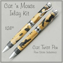 Cat and Mouse Laser Inlay Kit - Cat Pen Kits