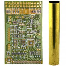 Computer Circuit Board Pen Blank Kit - Sierra - Green Kit