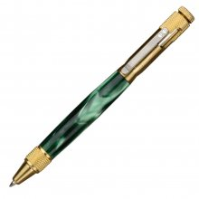 Clip Bolt Action Pen Kit - C3604 Brass