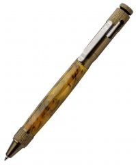 Clip Bolt Action Pen Kit - Burnt Bronze
