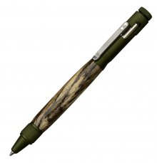 Clip Bolt Action Pen Kit - Green Anodized