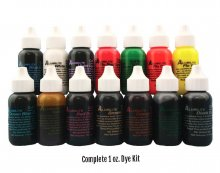 Alumilite Dye - Complete Set (NOW 15 - 1oz Bottles!!)