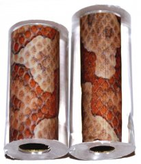 John's Copperhead Snakeskin Pen Blanks - Decal - Jr. Pen Kits [ clone ]