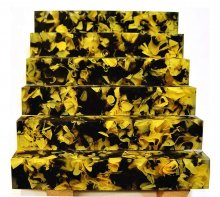 Coral Reef Alumilite Pen Blanks - #CR10 Bumble Bee