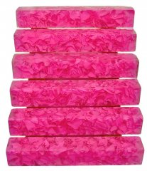 Coral Reef Alumilite Pen Blanks - #CR11 Secret Pink
