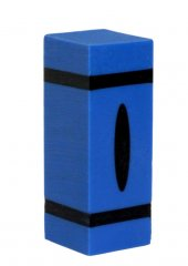 Crayon Pen Blanks - Sierra Sized - Blue