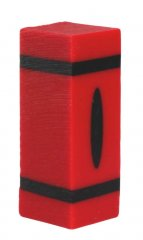 Crayon Pen Blanks - Sierra Sized - Red