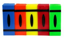 Crayon Pen Blanks - Sierra Sized - Primary Colors 5 Pack