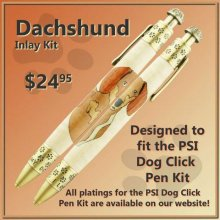 Dachshund Laser Inlay Kit - Dog Pen Kits