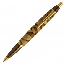 Devin Click Pen Kit - Gun Metal & Gold