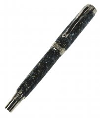 Diamond Knurl Rollerball Pen Kit - Gun Metal
