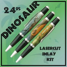 Dinosaur Laser Inlay Kit - Sierra Pen Kits