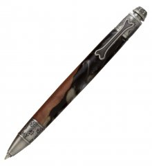 Dog Click Pen Kit - Antique Pewter