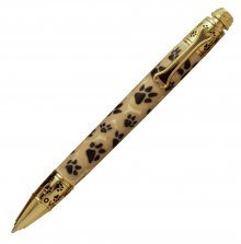 Dog Click Pen Kit - 24kt Gold