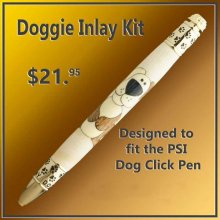 Doggie Laser Inlay Kit - Dog Pen Kits