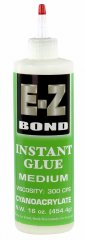 E-Z Bond CA Glue - Medium Thick (300 CPS) - Green Label