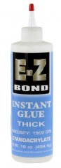 E-Z Bond CA Glue - Extra Thick (1500 CPS) - Blue Label